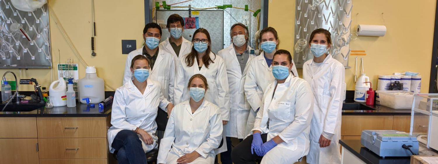 Lab research team