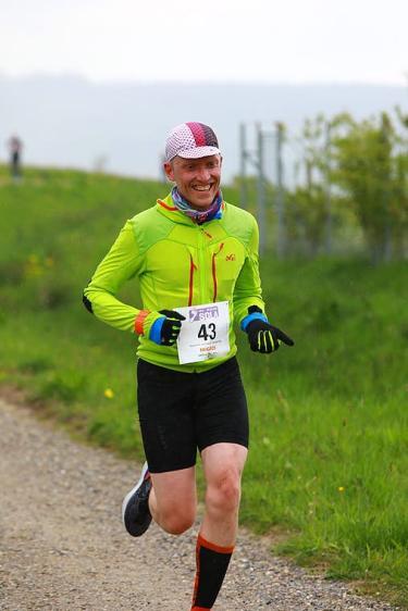 Cresten Mansfeldt running