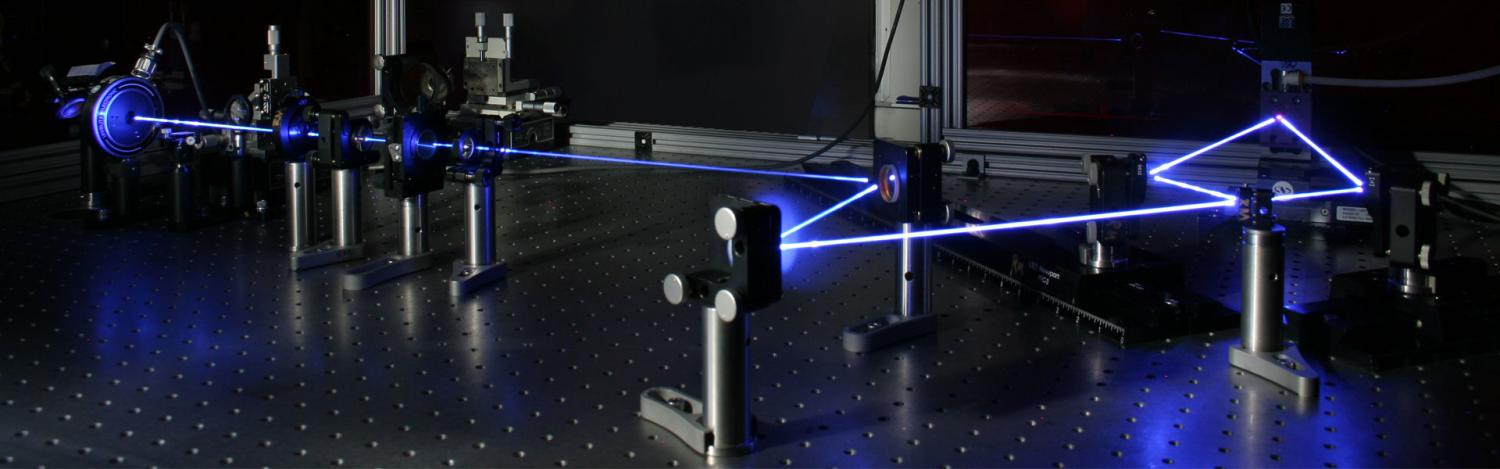 Interference lithography with 365 nm laser