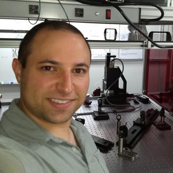 David in the lab