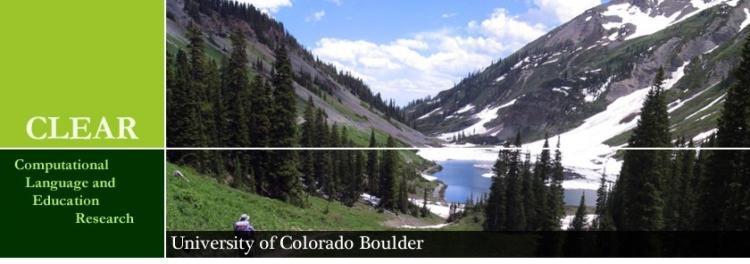 CLEAR Banner Mountains CU Boulder