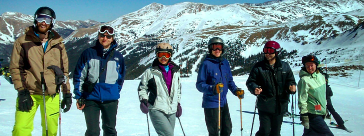 Lucy Pao's Research Group on a Skiing Trip