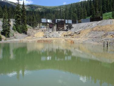 the coal creek in july 2005