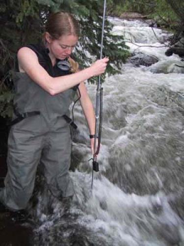 sabre duren measuring flow rate
