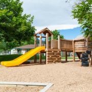 Playground at CU Children's Center