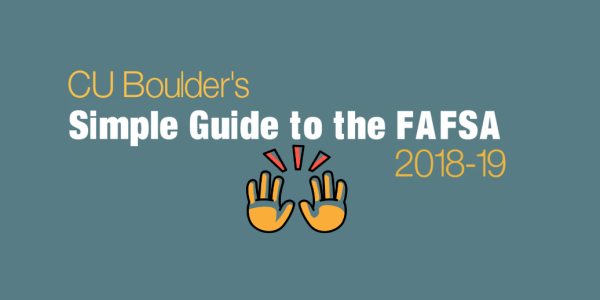 Guide to the FAFSA 2018-19