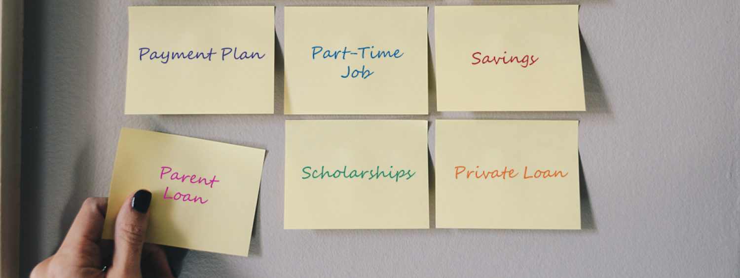 options for paying for college