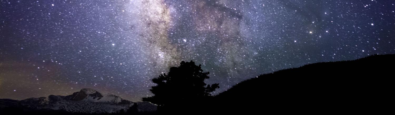Sky over Rocky Mountain National Park photo