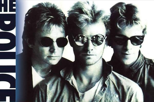 Album cover for the Police