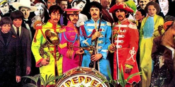 Liquid Sky Beatles St. Pepper's Lonely Hearts Club graphic