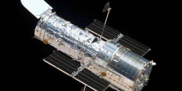 Cosmic Origins Spectrograph photo of Hubble Space Telescope