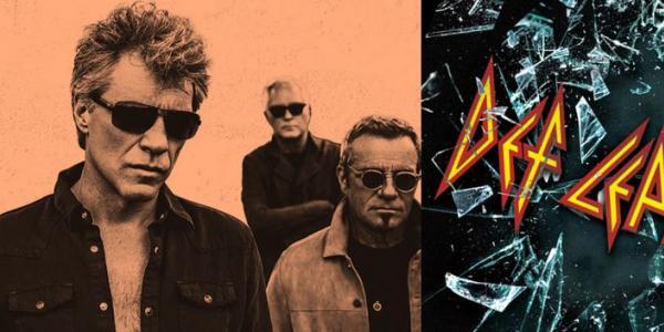 Def Leppard vs. Bon Jovi Liquid Sky graphic