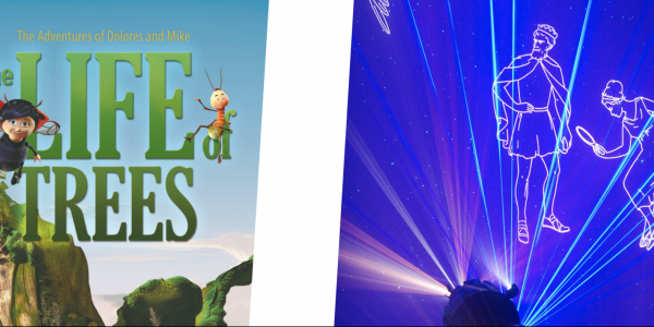 Still images from films of Life of Trees and Perseus and Andromeda