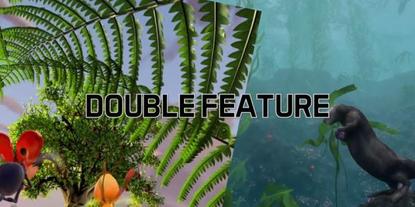 Double Feature Life of Trees & Habitat Earth graphics