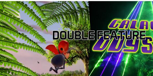 Double Feature Life of Trees and Laser Galactic Odyssey