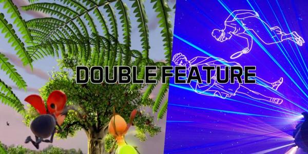 Double Feature Life of Trees and Perseus and Andromeda graphic