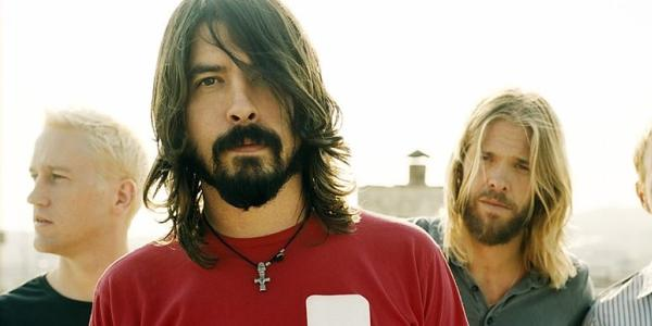 Foo Fighters band photo