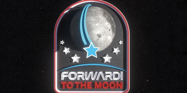 Forward to the Moon logo