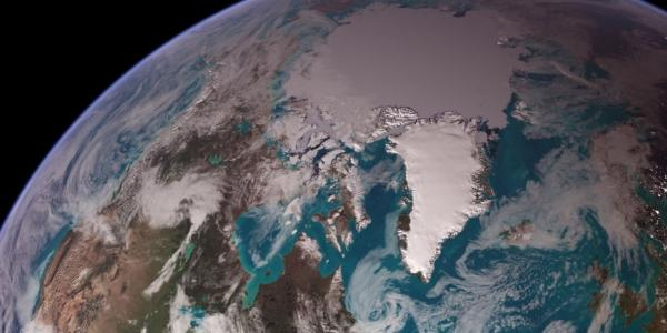 Photo of the north pole