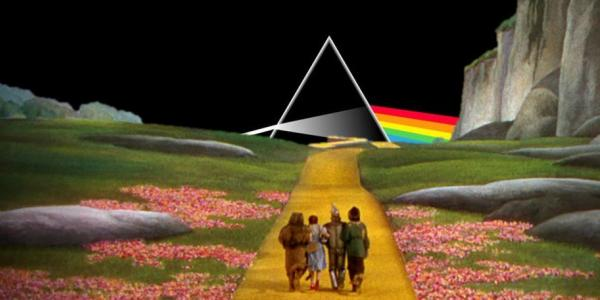 Laser Floyd Dark Side of the Rainbow with Wizard of Oz