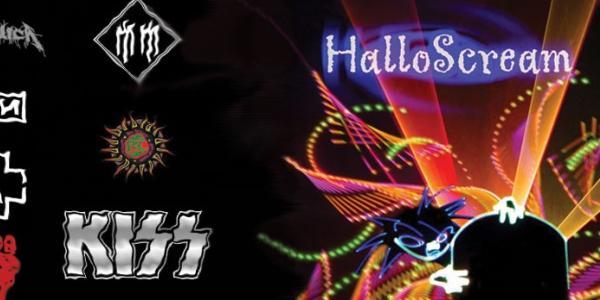 Laser Metal Hallowscream graphic