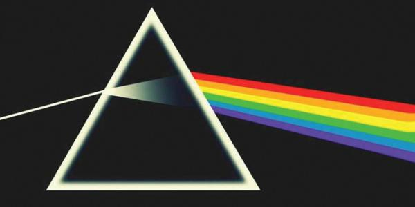 Laser Pink Floyd Dark Side of the Moon new graphic
