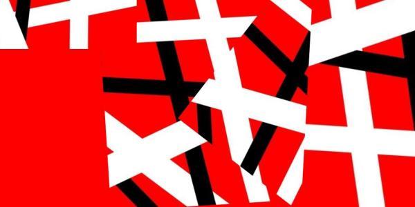 Laser Van Halen graphic