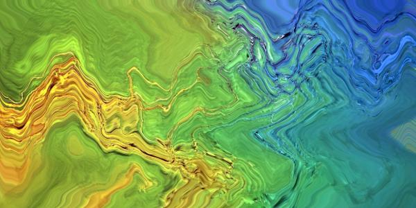 Liquid Sky graphic
