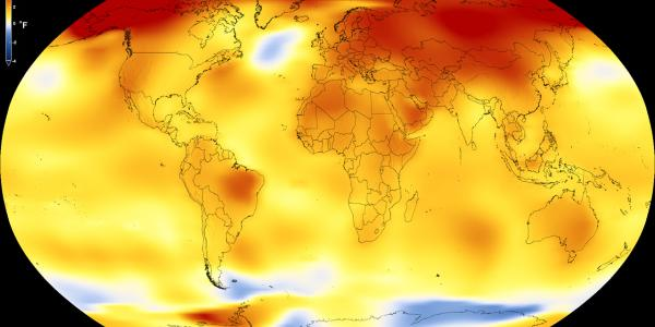 Long-term warming trend continued in 2017 - NASA Climate Change