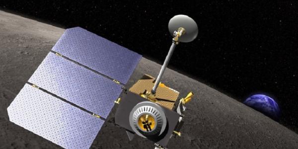 Illustration of the LRO spacecraft