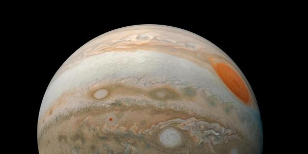 Photo of Jupiter from Juno spacecraft