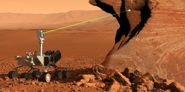 ChemCam on Curiosity rover