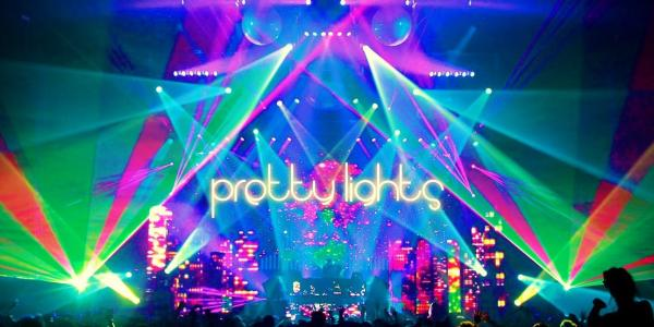 Pretty lights graphic from concert