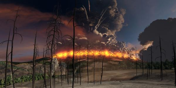 Supervolcanoes still image from film