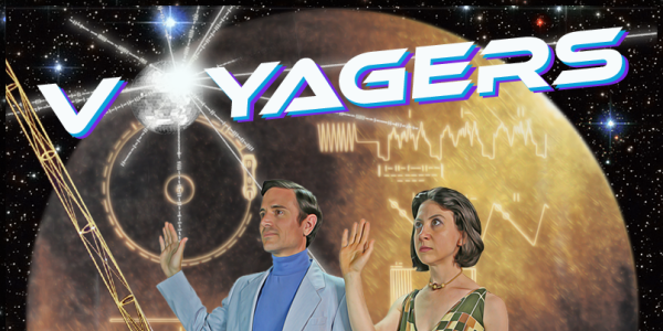 Poster for Voyagers theatrical musical production