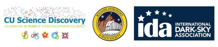 Astronomy Day 2019 Partner logos