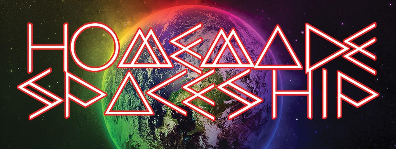 FiskEDM Live DJ Homemade Spaceship logo