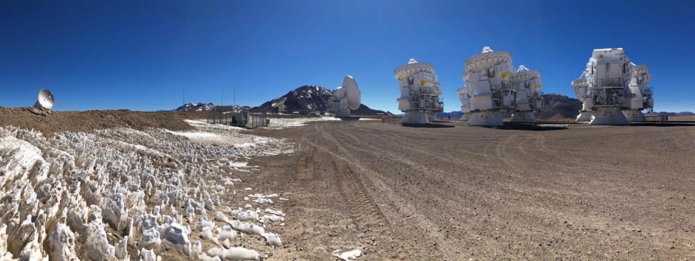 ALMA Radio Antennas in the Atacama Desert
