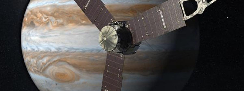 Juno at Jupiter artist conception