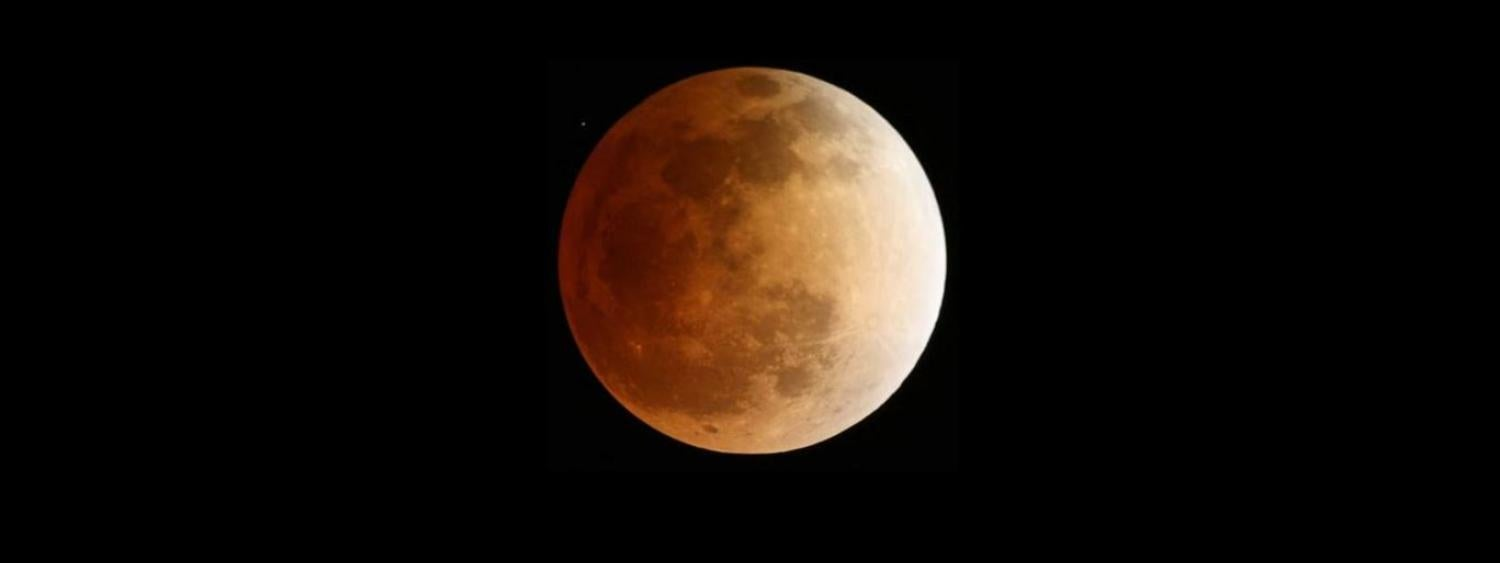 Photo of April 15, 2014 Total Lunar Eclipse from NASA Marshall Flight Center