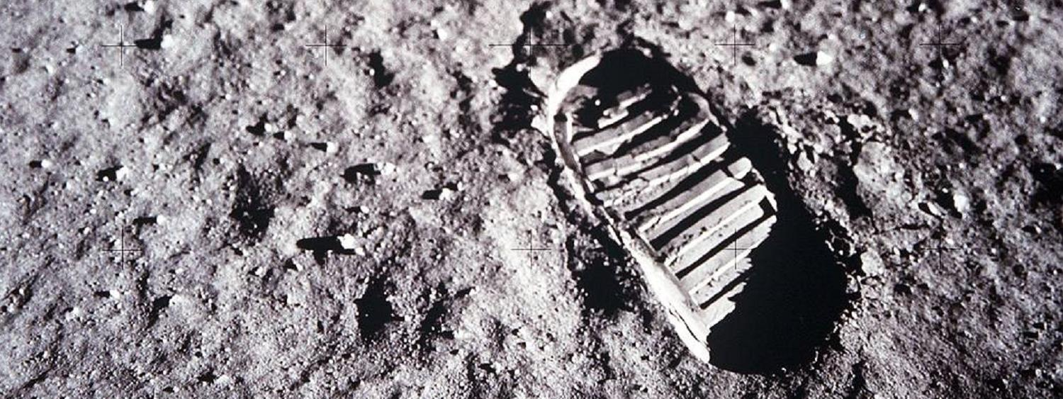 Apollo 11 First bootprint