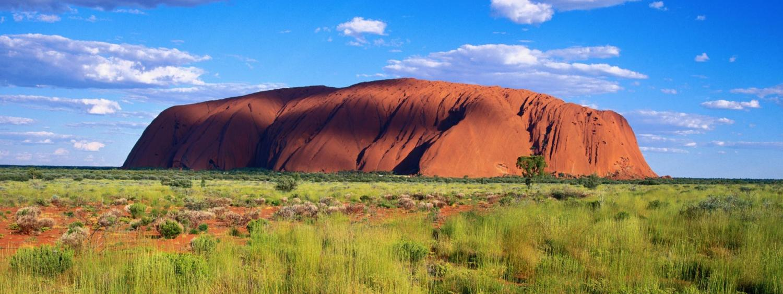 Australian Outback image of Uluru