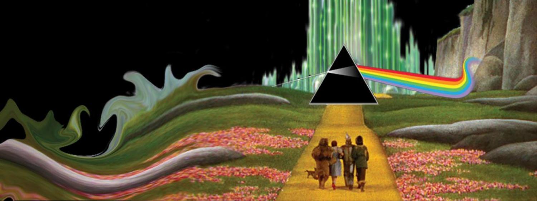 Pink Floyd logo set in Wizard of Oz scene