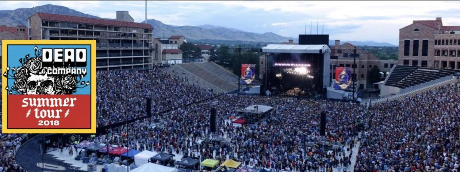 Dead and Company at Folsom field