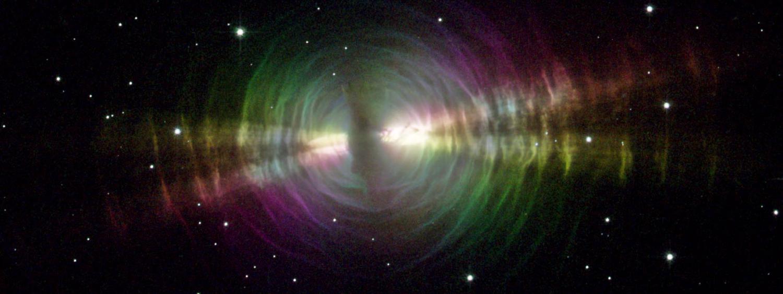 Photo of the egg nebula