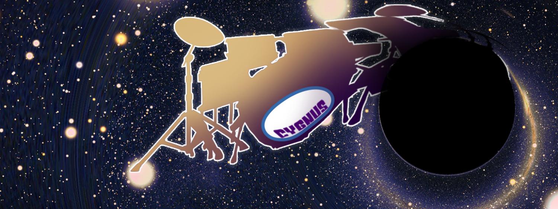 Illustration of Cygnus Black hole with drum kit