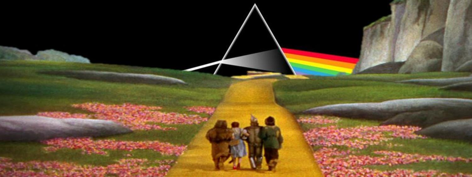 Image from Wizard of Oz with Floyd logo