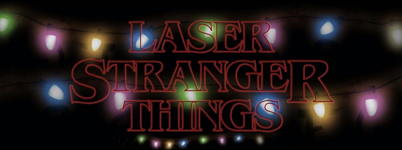 Stranger things logo for tv show