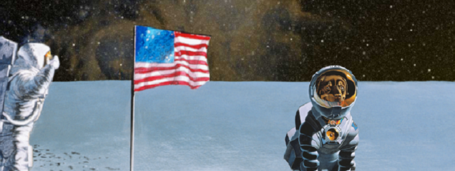 Still image from Max Goes to the Moon film