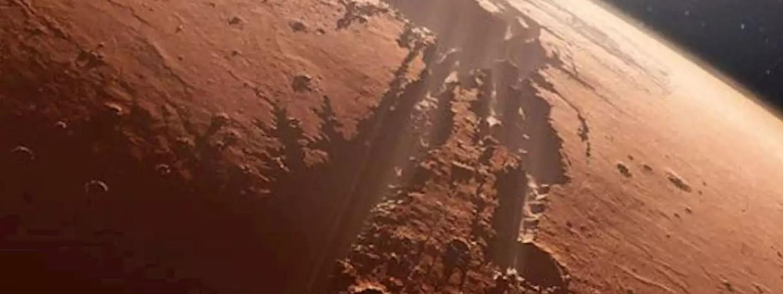 Artist illustration of Mars